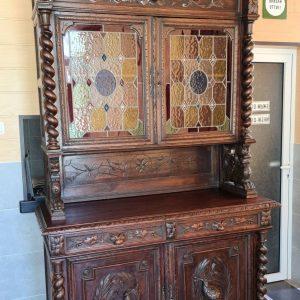 Античен френски ловен шкаф