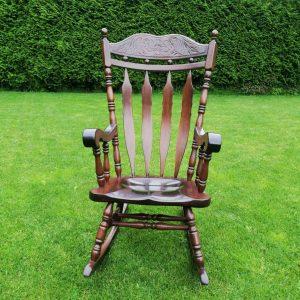 Античен френски люлеещ стол