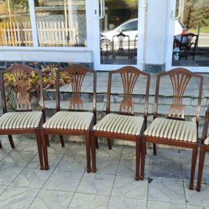 Френски трапезни столове 6 броя